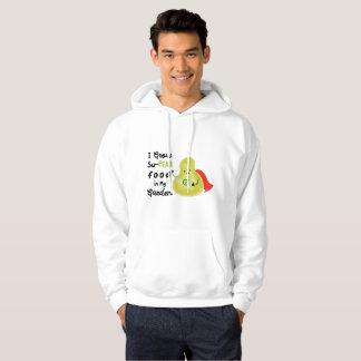 Positive Pear Pun - I Grow SuPear Food Hoodie