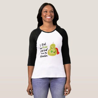 Positive Pear Pun - SuPear Food from my Garden T-Shirt
