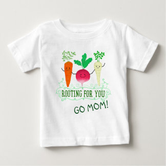 Positive Root Pun - Rooting for you Baby T-Shirt