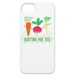 Positive Root Pun - Rooting for you iPhone 5 Cases
