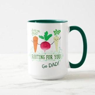 Positive Root Pun - Rooting for you Mug