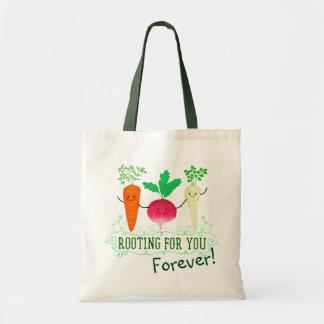 Positive Root Pun - Rooting for you Tote Bag