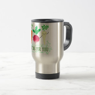 Positive Root Pun - Rooting for you Travel Mug