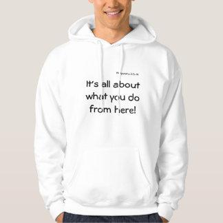 Positive Statement Hooded Sweatshirt w/Scripture