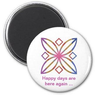 Positive Strokes - Display Happy Designs Refrigerator Magnet