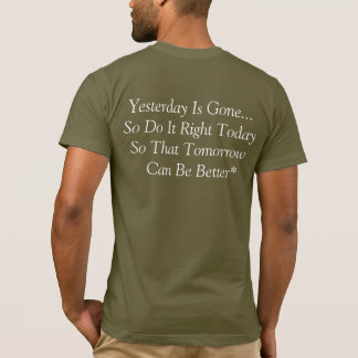 Positive Thinking And Believing In Yourself T-Shirt