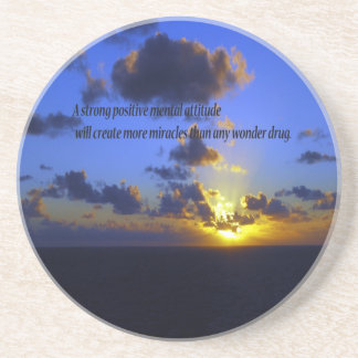 Positive Thoughts,spiritual Beverage Coasters