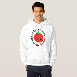 Positive Tomato Pun - From My Head Tomatoes Hoodie