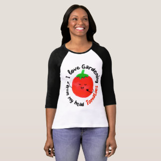 Positive Tomato Pun - From My Head Tomatoes T-Shirt