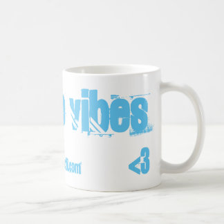 POSITIVE VIBES COFFEE MUG