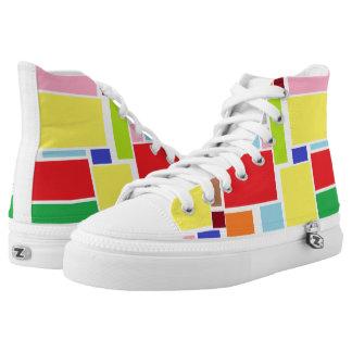 Positive Vibes Splash of color shoes