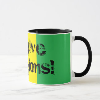 Positive Vibrations! Design Rasta Mug