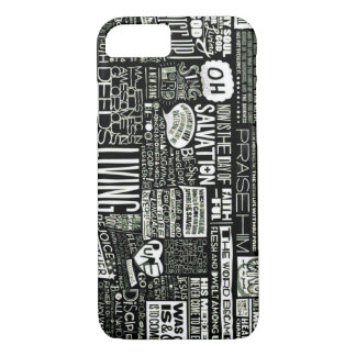 Positive Worship Sayings Collage iPhone 7 Case