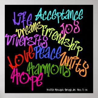 PositiveGraffiti Poster