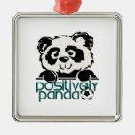 Positively Panda (Soccer) Christmas Ornaments