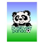 Positively Panda (Soccer) Post Card