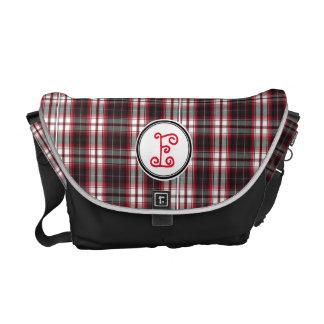Positively Plaid Messenger Bag