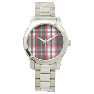 Positively Plaid Unisex Oversized Watch