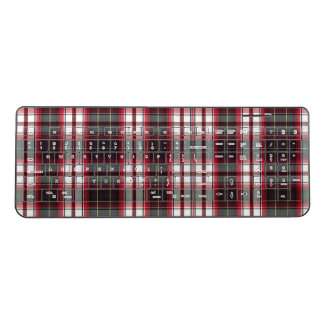 Positively Plaid Wireless Keyboard