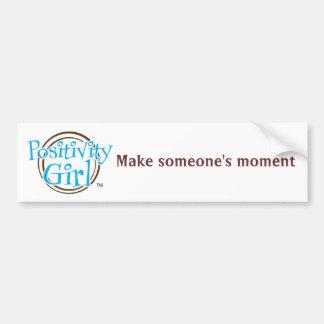 Positivity Girl™ MSM Bumper Sticker
