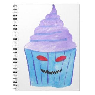 Possessed Cupcake Notebook