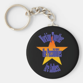 Possibilities Are Endless Keychain