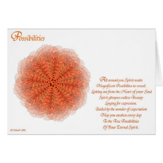 Possibilities Card