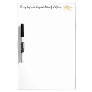 Possibilities of a Lifetime Dry-Erase Boards