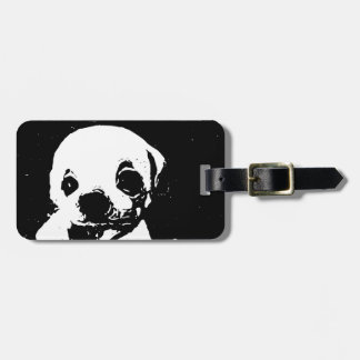 Possum and Pup Luggage Tag