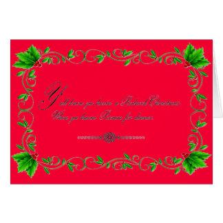 Possum Christmas Card