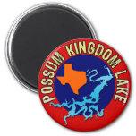 Possum Kingdom Lake, Texas 6 Cm Round Magnet