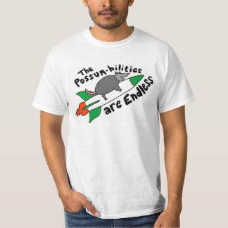 Possum on a Rocket T-shirt