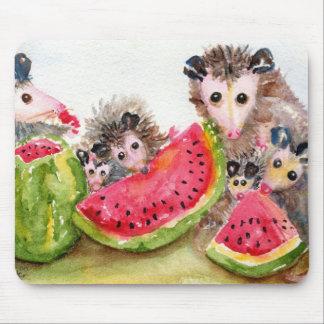 Possum Picnic Mousepad