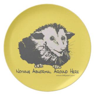 Possum Plate