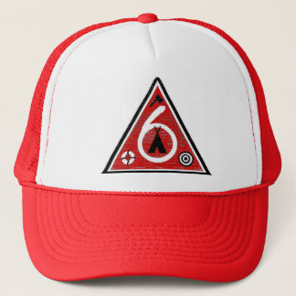 Post 6 Triangle Trucker Hat