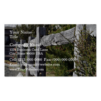 Post and Rail Fence Business Cards
