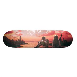 Post Apocalyptic Board Skate Board