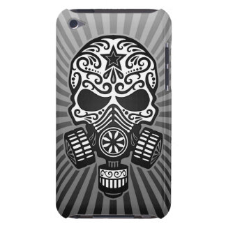 Post Apocalyptic Sugar Skull, grey iPod Touch Covers