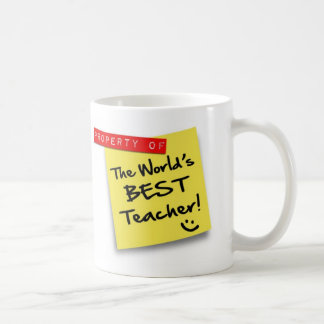 Post BEST TEACHER - mug