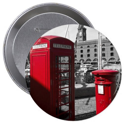 Post Box Phone box Buttons