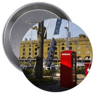 Post Box Phone box Button