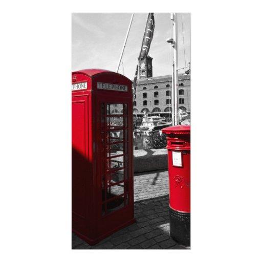 Post Box Phone box Photo Card