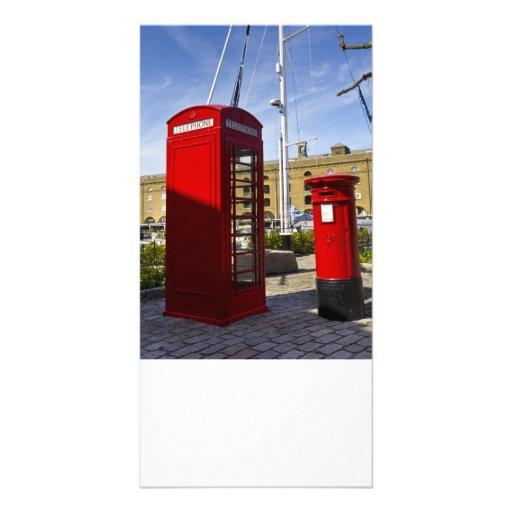 Post Box Phone box Customized Photo Card