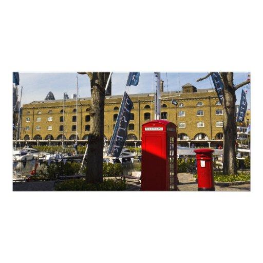 Post Box Phone box Photo Cards