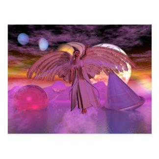 Post Card Astral Bodies Fantasy Sci-fi Card