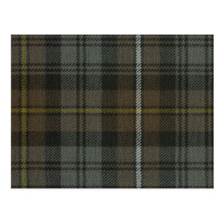 Post Card Campbell of Argyll Weathered Tartan