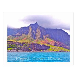 POST CARD, FLUTED-CLIFFS OF NAPALI COAST POSTCARD