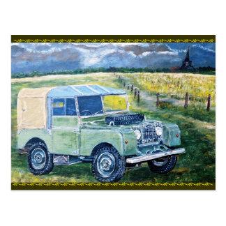 "Post Card ""FREYA"" The Series 1 Truck Cab"