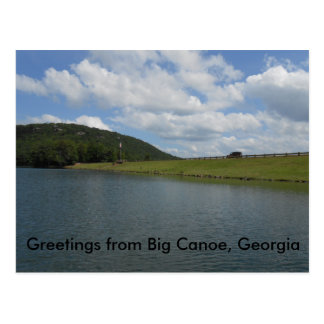 Post card from Big Canoe Georgia