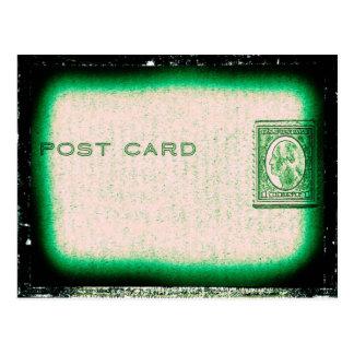 """Post Card"" (Green) Postcard"